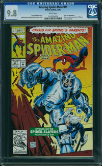 The Amazing Spider-Man #371 (Marvel, 1992) CGC NM/MT 9.8 WHITE pages