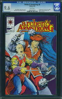 Archer & Armstrong #8 (Valiant, 1993) CGC NM+ 9.6 WHITE pages
