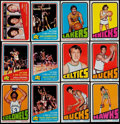 Basketball Cards:Lots, 1972 Topps Basketball Collection (240)....