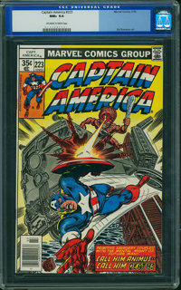 Captain America #223 (Marvel, 1978) CGC NM+ 9.6 Off-white to white pages