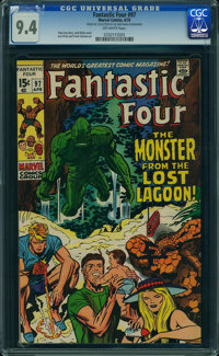 Fantastic Four #97 (Marvel, 1970) CGC NM 9.4 OFF-WHITE pages