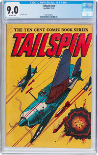 Tailspin #nn (Spotlight/Palace, 1944) CGC VF/NM 9.0 Off-white pages