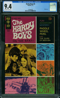 Hardy Boys #4 (Gold Key, 1971) CGC NM 9.4 OFF-WHITE TO WHITE pages