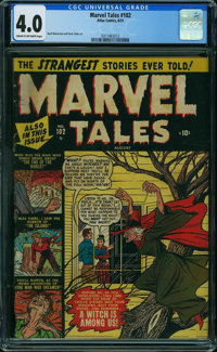 Marvel Tales #102 (Atlas, 1951) CGC VG 4.0 CREAM TO OFF-WHITE pages