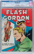 Golden Age (1938-1955):Science Fiction, Four Color #10 Flash Gordon - Crowley Copy Pedigree (Dell, 1942)CGC VF- 7.5 Off-white pages....