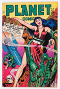 Golden Age (1938-1955):Science Fiction, Planet Comics #51 (Fiction House, 1947) Condition: FN-....