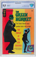 Silver Age (1956-1969):Adventure, The Green Hornet #2 (Gold Key, 1967) CBCS VF+ 8.5 White pages....