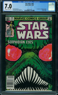 Star Wars #64 (Marvel, 1982) CGC FN/VF 7.0 OFF-WHITE TO WHITE pages