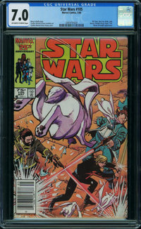 Star Wars #105 (Marvel, 1986) CGC FN/VF 7.0 OFF-WHITE TO WHITE pages