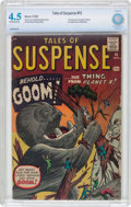Silver Age (1956-1969):Horror, Tales of Suspense #15 (Marvel, 1961) CBCS VG+ 4.5 Off-white towhite pages....