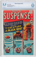 Silver Age (1956-1969):Horror, Tales of Suspense #23 (Marvel, 1961) CBCS FN- 5.5 Off-white towhite pages....