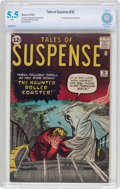 Silver Age (1956-1969):Horror, Tales of Suspense #30 (Marvel, 1962) CBCS FN- 5.5 White pages....