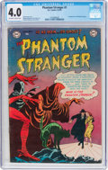 Golden Age (1938-1955):Horror, The Phantom Stranger #1 (DC, 1952) CGC VG 4.0 Off-white to whitepages....