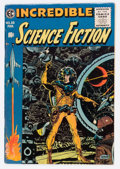 Golden Age (1938-1955):Science Fiction, Incredible Science Fiction #33 (EC, 1956) Condition: FN....