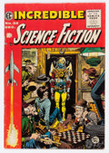 Golden Age (1938-1955):Science Fiction, Incredible Science Fiction #32 (EC, 1955) Condition: VG....