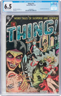 Golden Age (1938-1955):Horror, The Thing! #12 (Charlton, 1954) CGC FN+ 6.5 Off-white to whitepages....