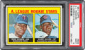 Baseball Cards:Singles (1960-1969), 1967 Topps A. L. Rookies - Rod Carew #569 PSA Mint 9....