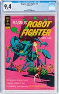 Bronze Age (1970-1979):Science Fiction, Magnus Robot Fighter #31 (Gold Key, 1972) CGC NM 9.4 Off-white pages....