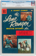 Silver Age (1956-1969):Western, Dell Giant Comics #nn Lone Ranger Movie Story - File Copy (Dell,1956) CGC VF+ 8.5 Off-white pages. ...