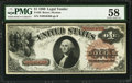 Large Size:Legal Tender Notes, Fr. 30 $1 1880 Legal Tender PMG Choice About Unc 58.. ...