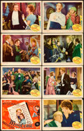 "Movie Posters:Musical, Maytime (MGM, 1937). Lobby Card Set of 8 (11"" X 14"").. ... (Total:8 Items)"