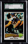 Football Cards:Singles (1970-Now), 1975 Topps Dan Fouts #367 SGC 96 Mint 9....