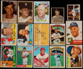 Autographs:Sports Cards, Signed 1950's-1970's Baseball Card Collection (15)...