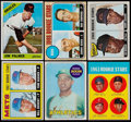 Baseball Cards:Lots, 1960's Topps Hall of Fame Rookie Collection (6)....