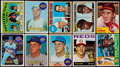 Baseball Cards:Lots, 1960 to 1972 Topps Star and Rookie Card Collection (10). ...