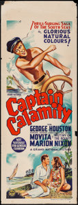 "Movie Posters:Adventure, Captain Calamity (Grand National, 1936). Australian Pre-War Daybill(15"" X 40""). Adventure.. ..."