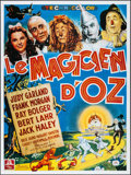 "Movie Posters:Fantasy, The Wizard of Oz (MGM, R-1989). French Grande (46"" X 62""). Fantasy.. ..."