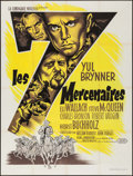 "Movie Posters:Western, The Magnificent Seven (United Artists, 1960). French Grande (47.25"" X 62""). Western.. ..."