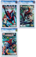 Modern Age (1980-Present):Superhero, Superior Spider-Man/Amazing Spider-Man CGC-Graded Midtown ComicsEditions Group (Marvel, 2014) CGC NM/MT 9.8.... (Total: 3 ComicBooks)