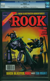 The Rook #1 (Warren, 1979) CGC NM+ 9.6 White pages