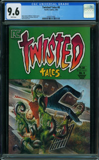 Twisted Tales #8 (Pacific Comics, 1984) CGC NM+ 9.6 WHITE pages