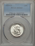 Washington Quarters, 1934-D 25C Medium Motto MS66+ PCGS....