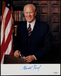 Autographs:Others, Gerald Ford Signed Photograph. ...