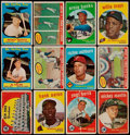Baseball Cards:Lots, 1959 Topps Baseball Collection (163)....
