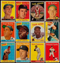 Baseball Cards:Lots, 1958 - 1960 Topps Baseball & Football Collection (72). ...