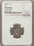 Early Dimes, 1807 10C JR-1, R.2, -- Damaged -- NGC Details. VF. NGC Census:(4/209). PCGS Population: (3/8). CDN: $1,300 Whsle. Bid for ...