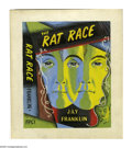 Illustration:Books, THE RAT RACE. By Jay Franklin. Original color illustration.Watercolor and gouache on paper. 8.5 x 7in. (sight size). ...