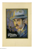 Illustration:Advertising, EDDICE MILLER. Tuxedo Tobacco Color Art Advertisement. Acrylic onboard. 10 x 7.4in. (sight seen). ...