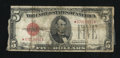 Fr. 1528* $5 1928C Legal Tender Note. Good