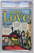 "Golden Age (1938-1955):Romance, Young Love #22 Davis Crippen (""D"" Copy) pedigree - Double Cover(Prize, 1951) CGC VF+ 8.5 Off-white pages...."