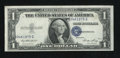Error Notes:Mismatched Prefix Letters, Fr. 1614 $1 1935E Silver Certificate. About Uncirculated.. ...