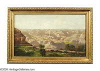 AMERICAN SCHOOL Grand Canyon Oil on canvas 12 x 20in. (sight size)