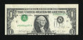 Error Notes:Inverted Third Printings, Fr. 1915-K $1 1988A Federal Reserve Note. Very Fine.. ...