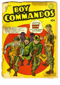 Golden Age (1938-1955):War, Boy Commandos #2 (DC, 1943) Condition: FR/GD. Hitler cover andinterior art by Simon & Kirby. Last appearance of LibertyBel...