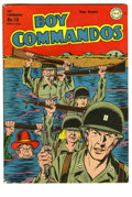 Golden Age (1938-1955):War, Boy Commandos #10 (DC, 1945) Condition: VG+. World War II cover.Some insect damage along spine. Overstreet 2005 VG 4.0 valu...