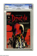 Modern Age (1980-Present):Horror, Bram Stoker's Dracula #1 Red Foil Edition (Topps, 1992) CGC NM+ 9.6White pages. Adaptation of the 1992 Francis Ford Coppola...